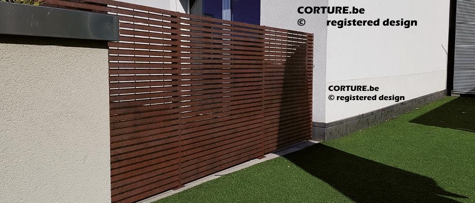 cortenstaal_privacy_screen